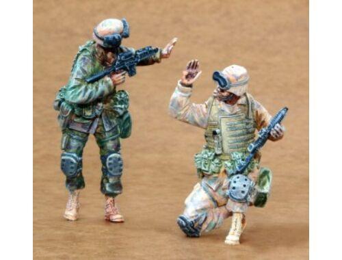 CMK US Infantry Freedom Iraq part I (2 fig.) 1:35 (F35163)