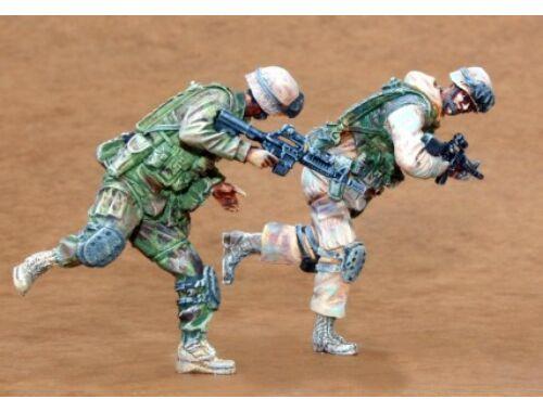 CMK US Infantry Freedom Iraq part II (2 fig.) 1:35 (F35164)