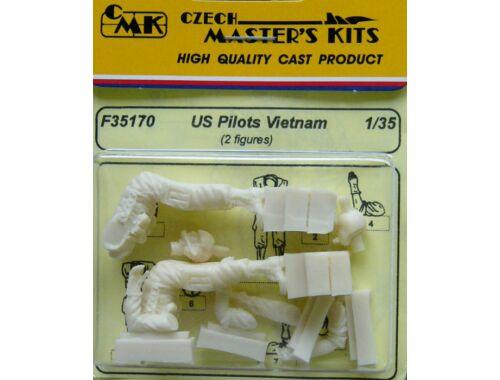 CMK US pilots sitting Vietnam (2 fig.) 1:35 (F35170)