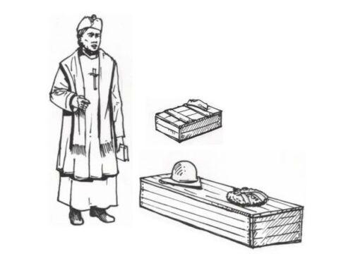 CMK Military Chaplain Coffin
