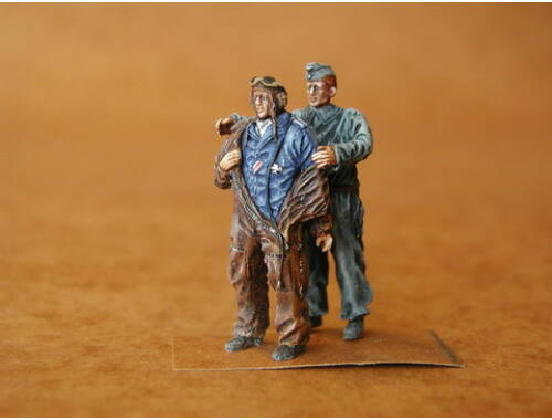 CMK German Bomber Pilots   Ground Crew WW II 1:48 (F48020)