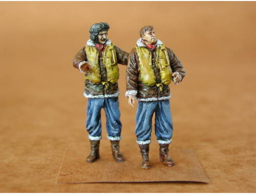 CMK RAF Fighter Pilots WW I (2 fig.) 1:48 (F48024)