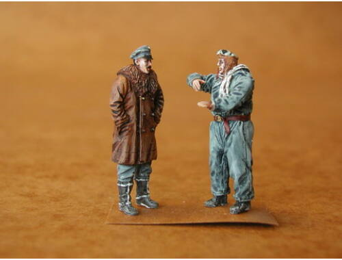 CMK German Pilot   Officer WW I (2fig.) 1:48 (F48025)