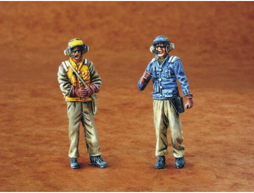 CMK US Navy mechanics - modern (2 fig.) 1:48 (F48085)