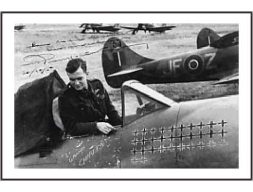 CMK RAF Aces P. Clostermann (1.fig for Tempest) 1:48 (F48151)