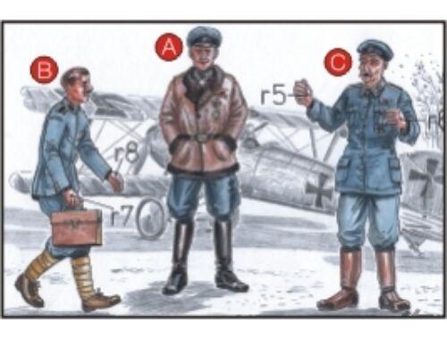 CMK Richthoffen Flying Circus WW I (3 fig.) 1:72 (F72044)