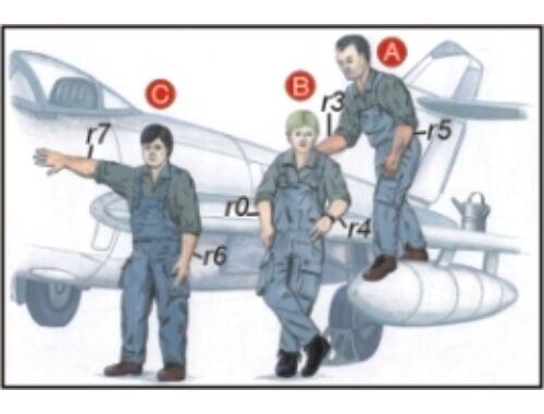 CMK Warsaw Pact Mechanics (3 fig.) 1:72 (F72050)