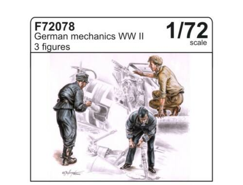 CMK German Mechanics (3 fig.) 1:72 (F72078)