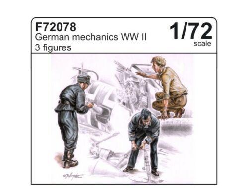 CMK German Mechanics (3 fig.) 1:72 (F72078)