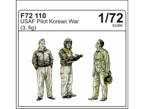 CMK USAF pilots Korean war (3 fig.) 1:72 (F72110)