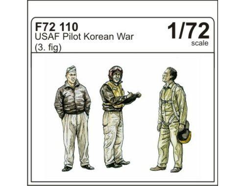 CMK USAF pilots Korean war (3 fig.) 1:72 (F72110)