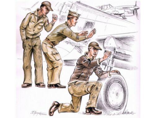 CMK US Army machanics WW II (3 fig.) 1:72 (F72114)