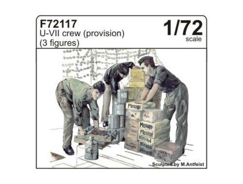 CMK U-VII crew (provision) (3fig.) 1:72 (F72117)
