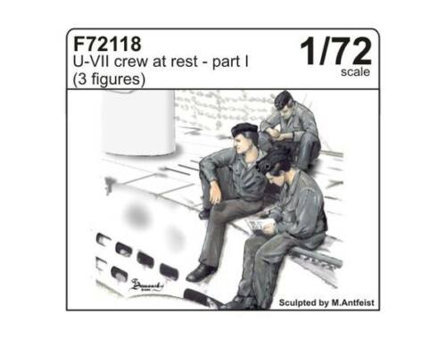 CMK U-VII crew at rest part I (3 fig.) 1:72 (F72118)