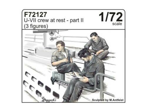 CMK U-VII crew at rest part II (3 fig.) 1:72 (F72127)