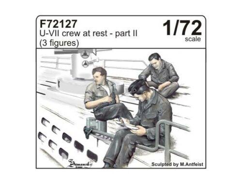 CMK U-VII crew at rest part II (3 fig.) 1:72 (F72127)