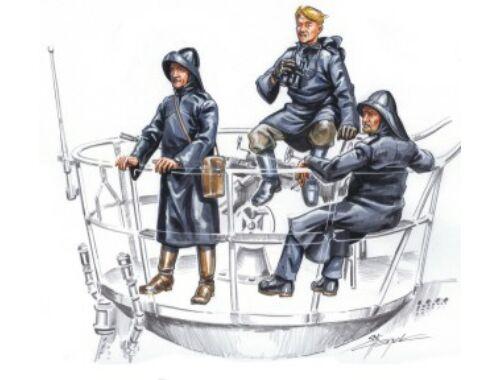 CMK U-VII crew on sentry (3 fig.) 1:72 (F72133)