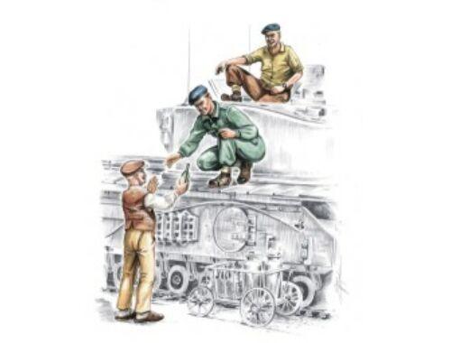 CMK British tankers civilian WW II (3 fig.) 1:72 (F72140)