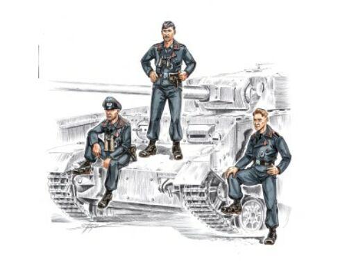 CMK German tankers WW II (3 fig.) 1:72 (F72142)