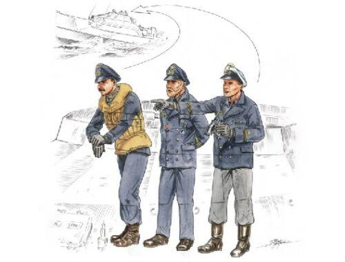 CMK Flying bridge crew for Schnellboot S-100 (gu 1:72 (F72158)
