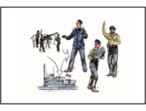 CMK U-VII Atlantic ver. Gun-Crew for 2cm Flak (si 1:72 (F72184)