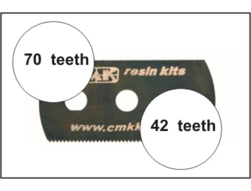 CMK Ultra smooth and extra smooth saw (2 sides)1p (H1000)