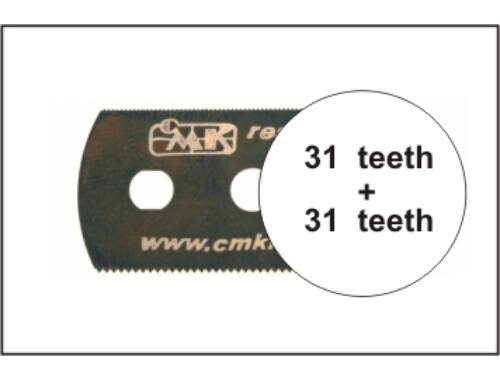 CMK Smooth saw (both sides)1p (H1003)