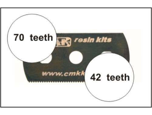 CMK Ultra smooth and extra smooth saw (2 sides)5p (H1004)