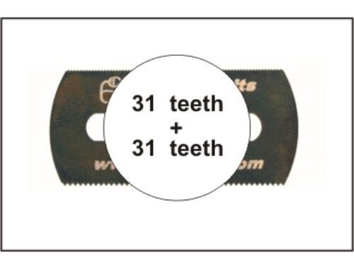 CMK Smooth saw (both sides)5p (H1007)