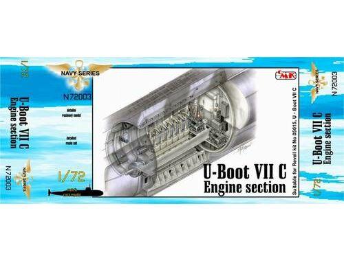 CMK U-Boot VII Engine section V for REV 1:72 (N72003)