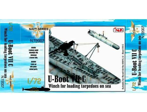 CMK U-Boot VII Winch for loading torpedoes on sea 1:72 (N72007)