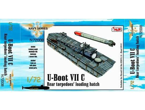 CMK U-Boot VII Rear torpedoes' loading hatch for 1:72 (N72008)
