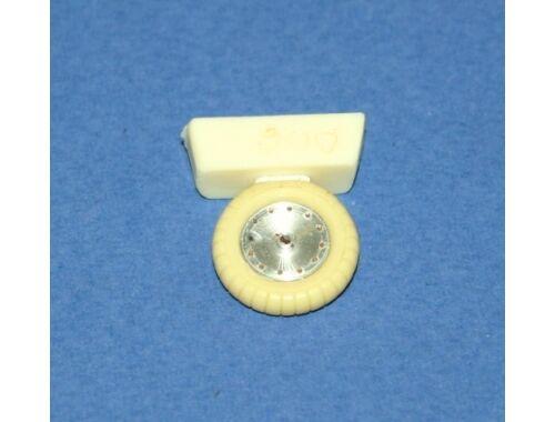 CMK FW 190A/D Wheels w/o holes 2 pcs Has/Edu 1:48 (Q48006)
