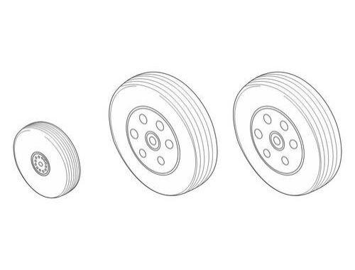 CMK Bae Hawk 100 series - Wheels for Airf. 1:48 (Q48142)