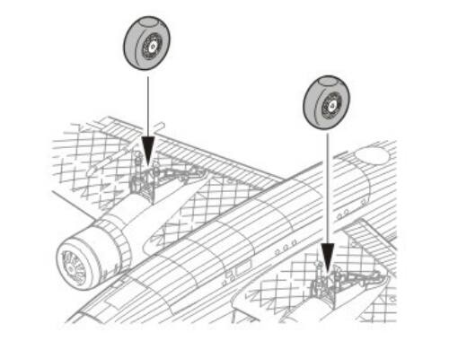 CMK Wellington MkI/III/VII/X - wheels - for MPM 1:72 (Q72023)