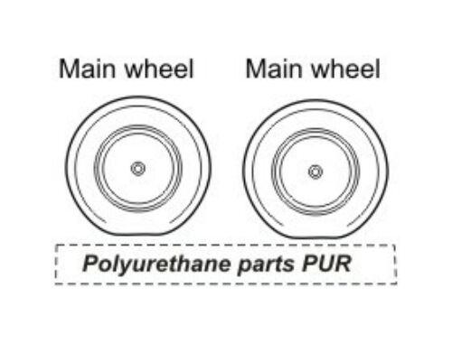 CMK TBM Avenger wheels for Aca/Has 1:72 (Q72045)