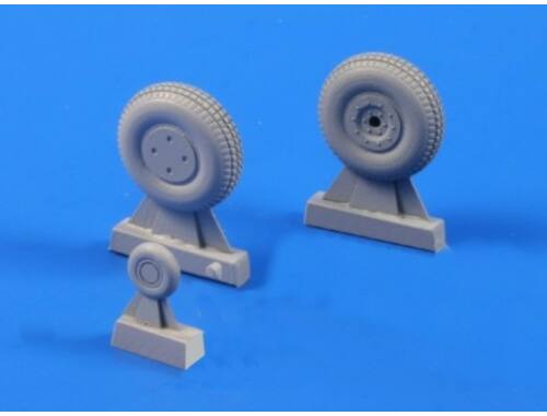 CMK Boomerang / Wirraway - wheels 1:72 (Q72146)