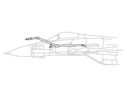 CMK Mig-29SMP/BM Fixed IFR Probe 1:72 (Q72191)