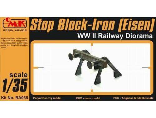 CMK Stop Block-Iron (Eisen) WW II Railway Diorama 1:35 (RA035)