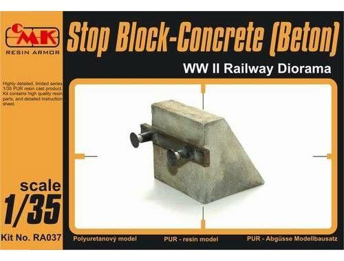 CMK Stop Block-Concrete (Beton) WW II Railway Dio 1:35 (RA037)