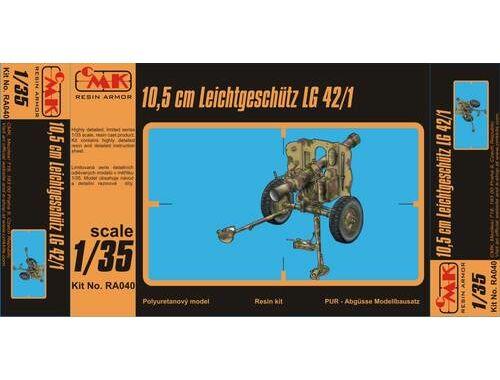 CMK 10,5cm Leichtgeschutz LG 42/1 Ful resinkit 1:35 (RA040)