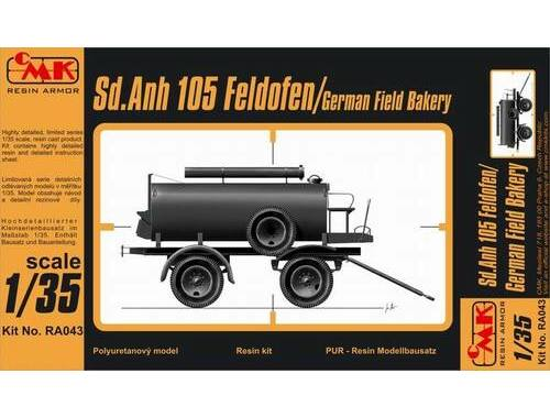 CMK Sd.Anh.105(German Field Bakery) 1:35 (RA043)