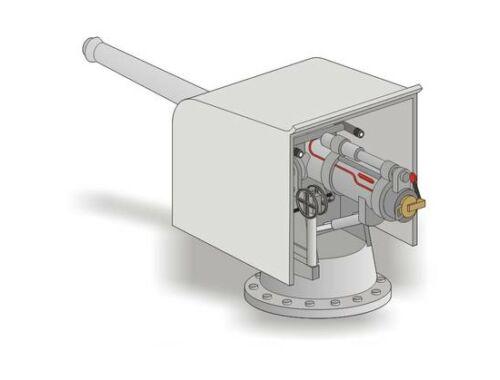 CMK US Naval 102mm cannon Full resin kit 1:35 (RA046)