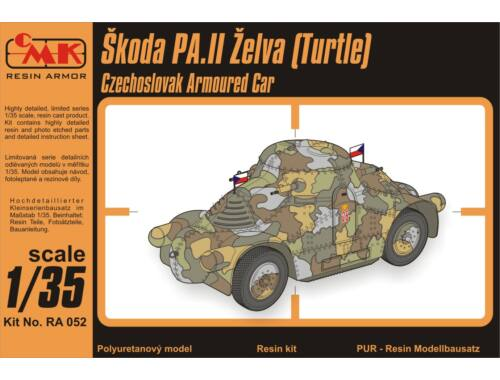 "CMK Skoda PA.II ""Turtle""-Cz.Armoured Car 1:35 (RA052)"