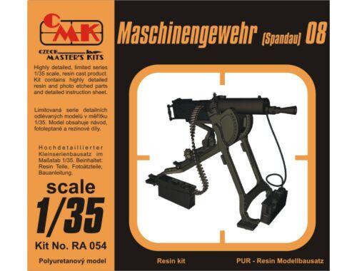 CMK WWII German Machine Gun Maschinengewehr(Spand 1:35 (RA054)