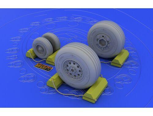 Eduard F-4J/S wheels for TAMIYA 1:32 (632006)