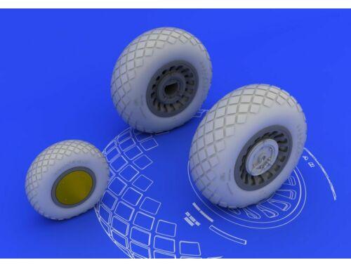 Eduard B-25H/J wheels for HKM 1:32 (632014)