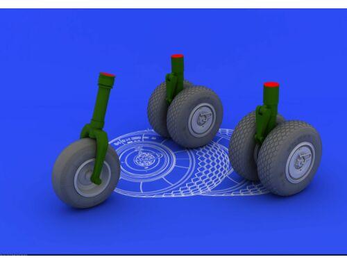 Eduard He 219 wheels for REVELL 1:32 (632016)