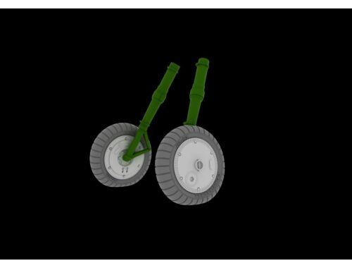 Eduard Bf 109G-6 wheels for REVELL 1:32 (632018)