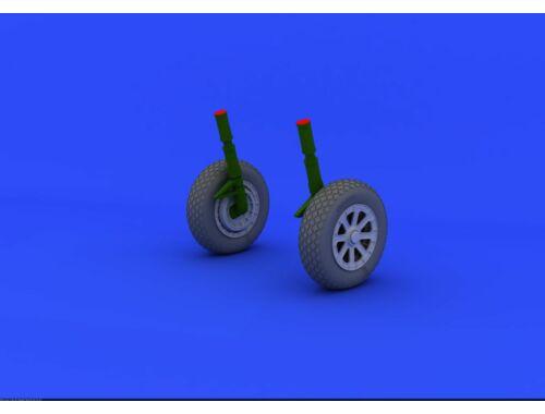 Eduard F4U-1 wheels for TAMIYA 1:32 (632019)
